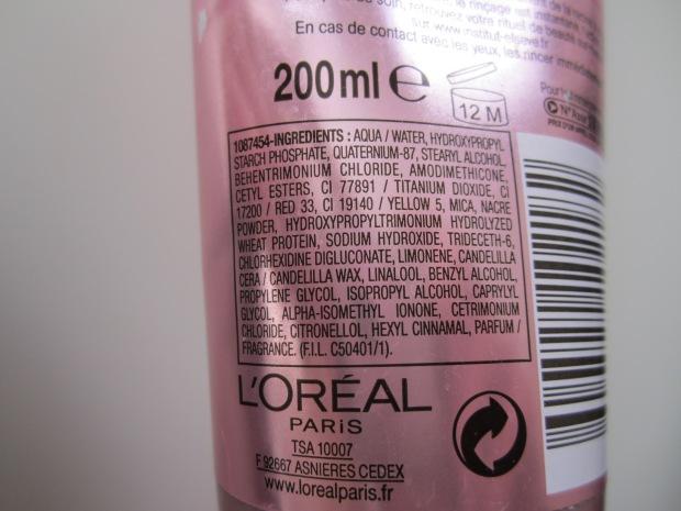 Nutri-Gloss Cristal miracle instantané, Elsève Re-Nutrition soin crème démêlant, Nutrition intense, Elsève, Après-shampooing